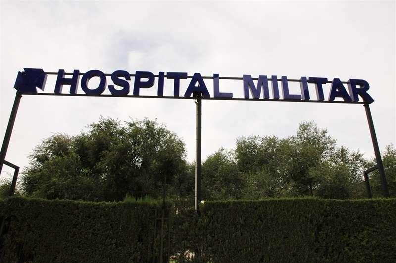 Puerta del hospital de Mislata