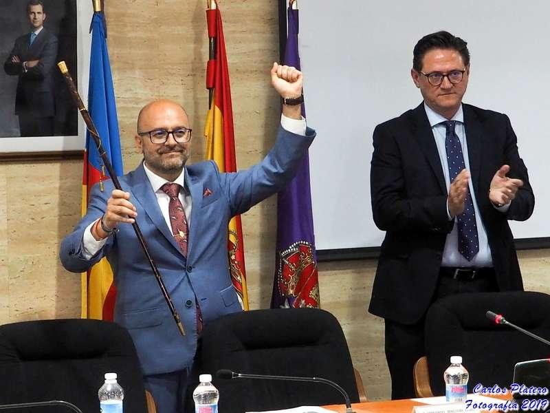 Fernando Benlliure volvió a levantar la vara de mando, esta vez con mayoría absoluta