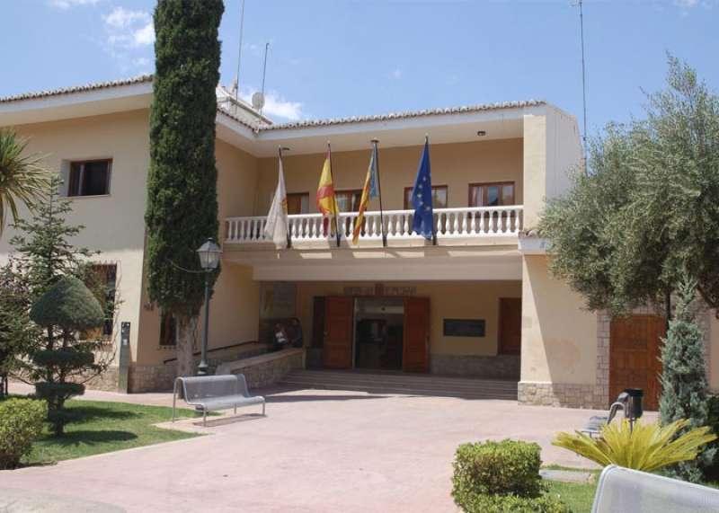 El Ayuntamiento de Nàquera. //EPDA