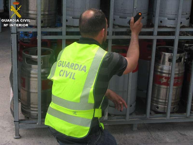 Las bombonas de butano sustraídas ya están en manos de la Guardia Civil