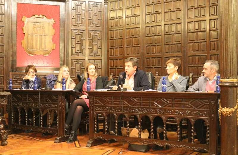 Grupo Popular en la última sesión plenaria