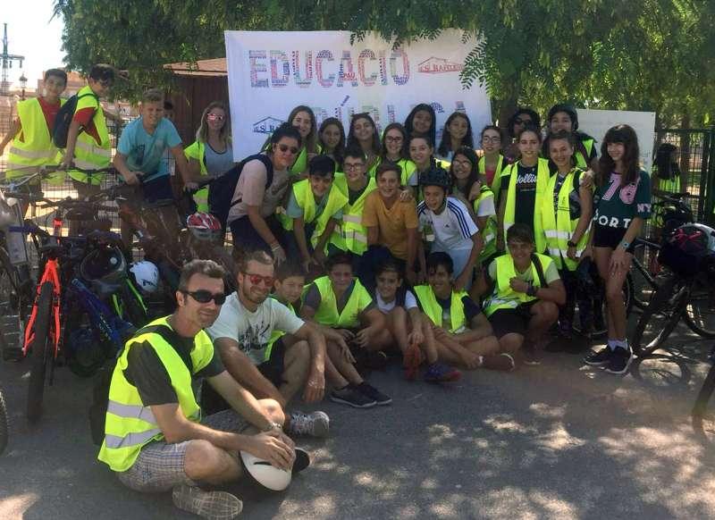 Celebració del dia sense cotxes a Rafelbunyol. EPDA