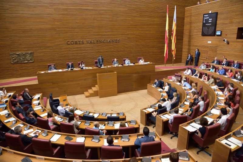 Imagen de archivo de las Cortes Valencianas./ EPDA