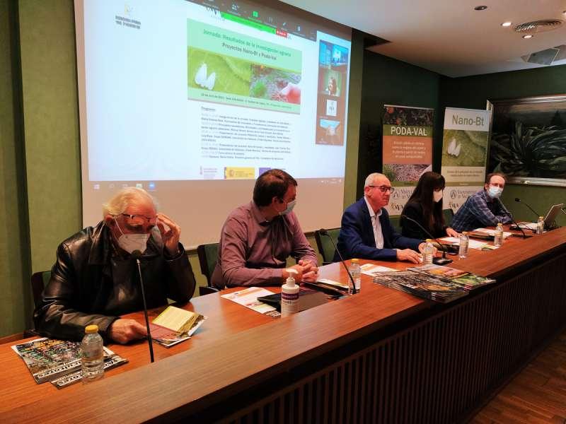 Jornada informativa celebrada en Valencia entre la UV y AVA-ASAJA.