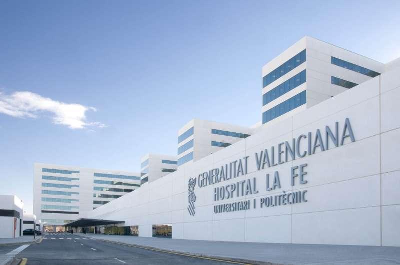 Imagen del Hospital La Fe de València. EPDA/Archivo