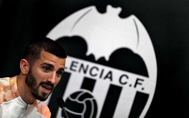 El jugador del Valencia CF, José Luís Gayá. EFE