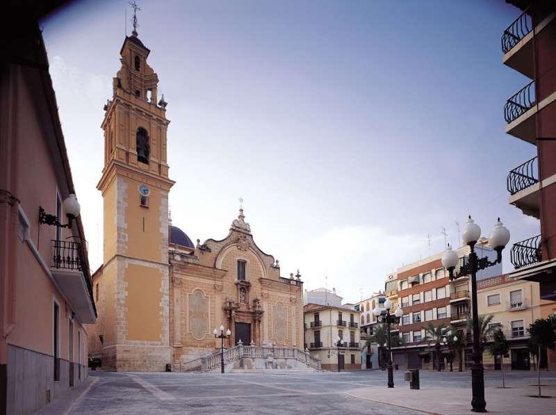 Plaza Mayor de Benaguasil. / EPDA