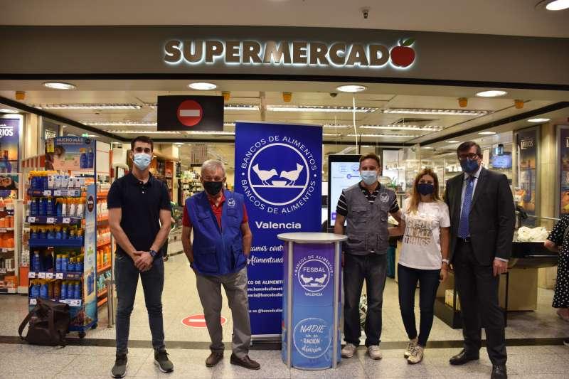 El Corte Inglés y el Banco de Alimentos de València ponen en marcha el proyecto