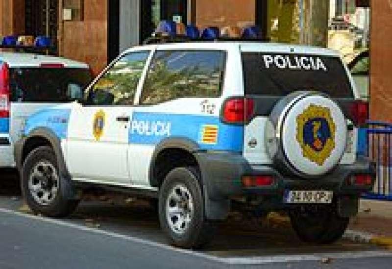 Un vehículo de la policía autonómica. EPDA