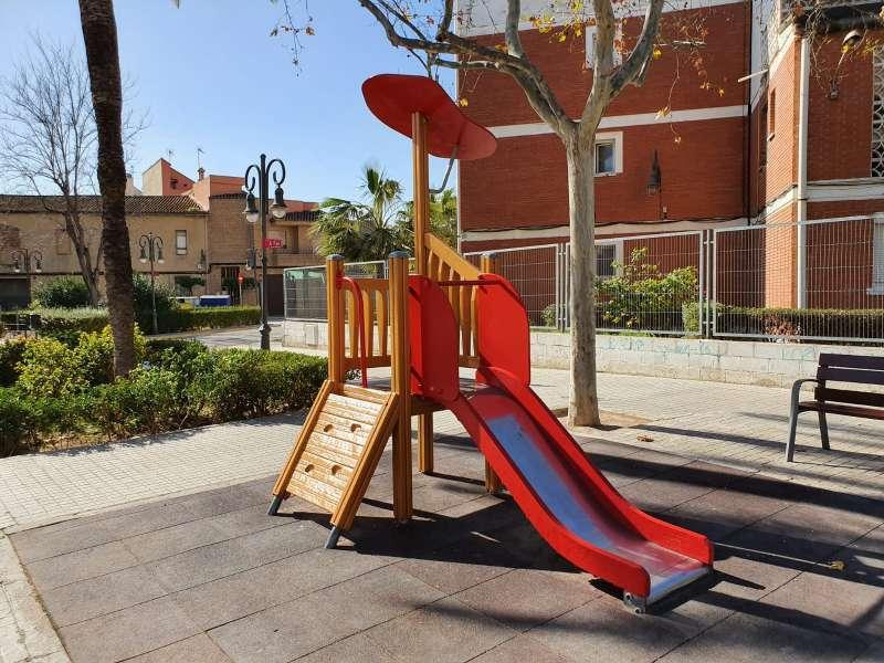 Imagen de un parque infantil.