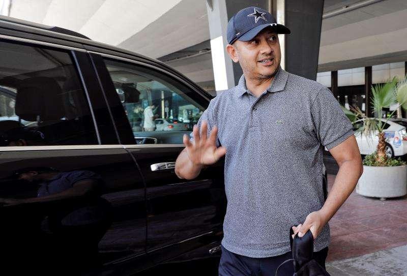 El presidente del Valencia CF, Anil Murthy. EFE/Bruque/Archivo