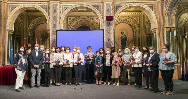 Entregade de premios a Mujeres rurales