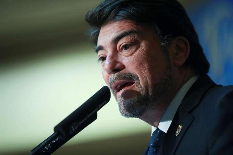 El alcalde de Alicante, Luis Barcala / EPDA