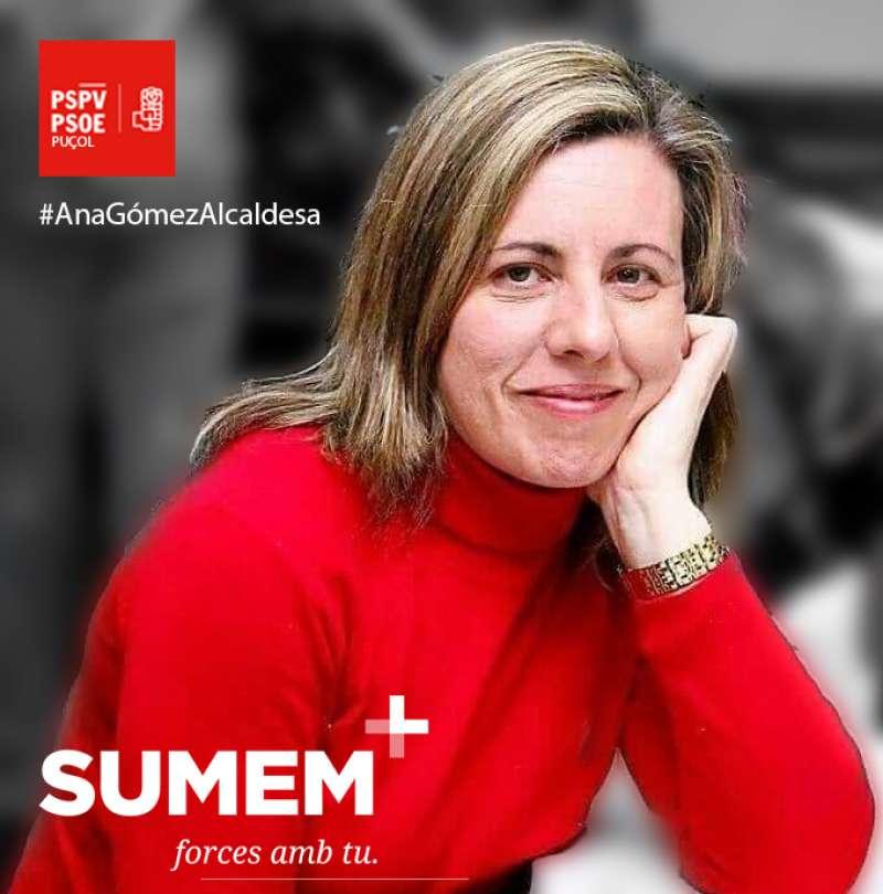 Ana Gómez, candidata a la Alcaldía. EPDA