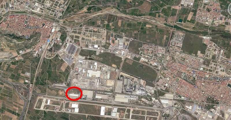 Lugar donde estará ubicado el nuevo supermercado. / EPDA