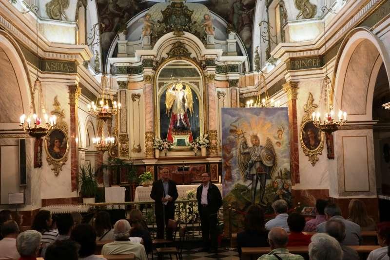 Presentación de las fiestas de San Miquel de Llíria. / EPDA
