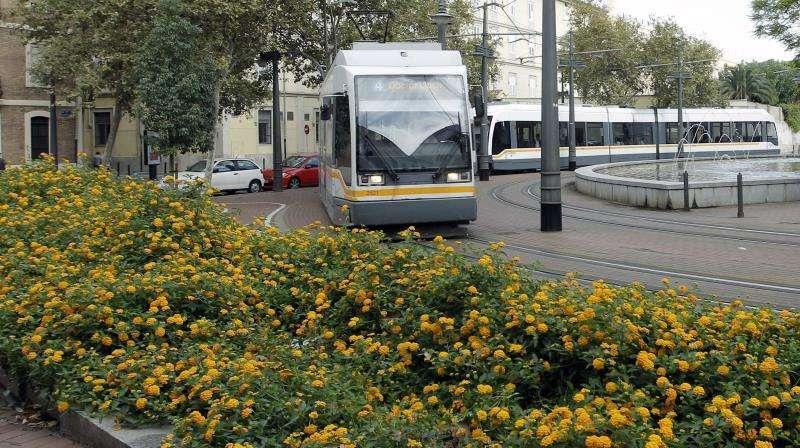 Uno de los tranvía de la red de FGV. EFE/Archivo