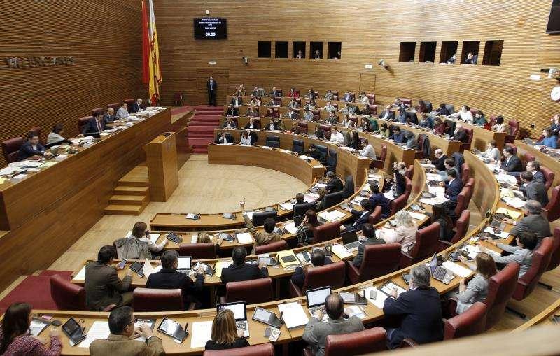 Les Corts tramitarán los últimos Presupuestos autonómicos de la legislatura