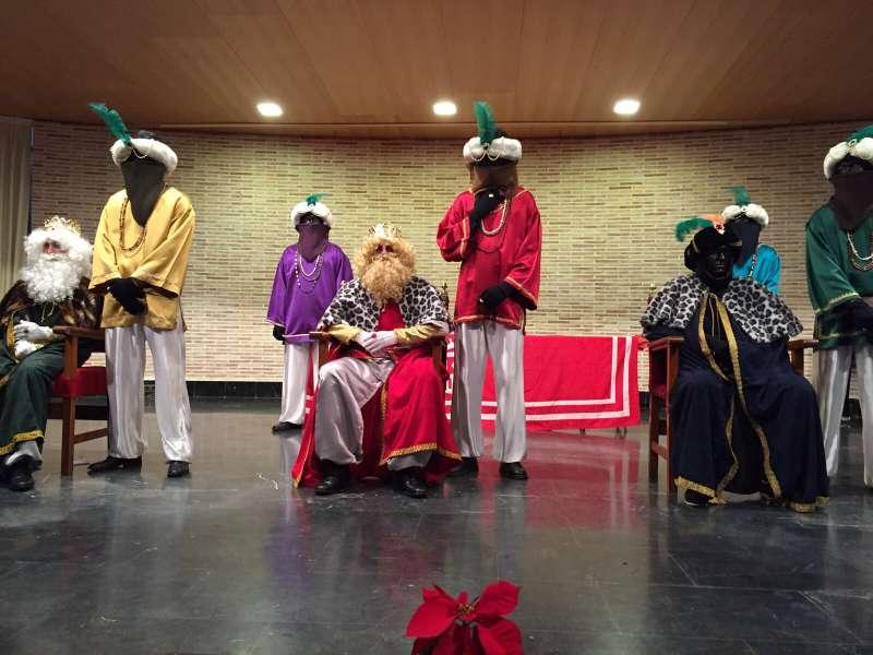 Los Reyes Magos en Algar de Palancia. EPDA