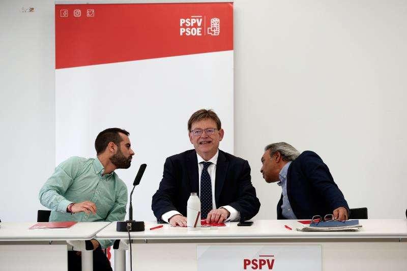 El president de la Generalitat en funciones y secretario general del PSPV, Ximo Puig