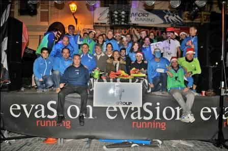 Celebración de la San Silvestre en Rocafort. EPDA