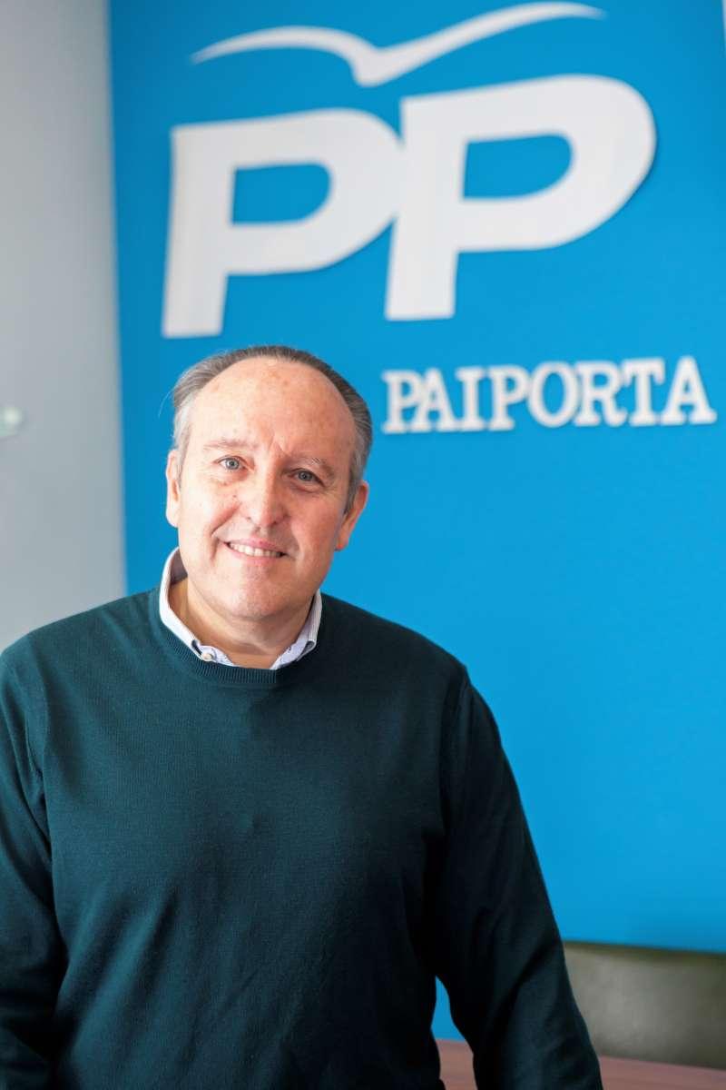 Portavoz del PP, Vicente Ibor. EPDA