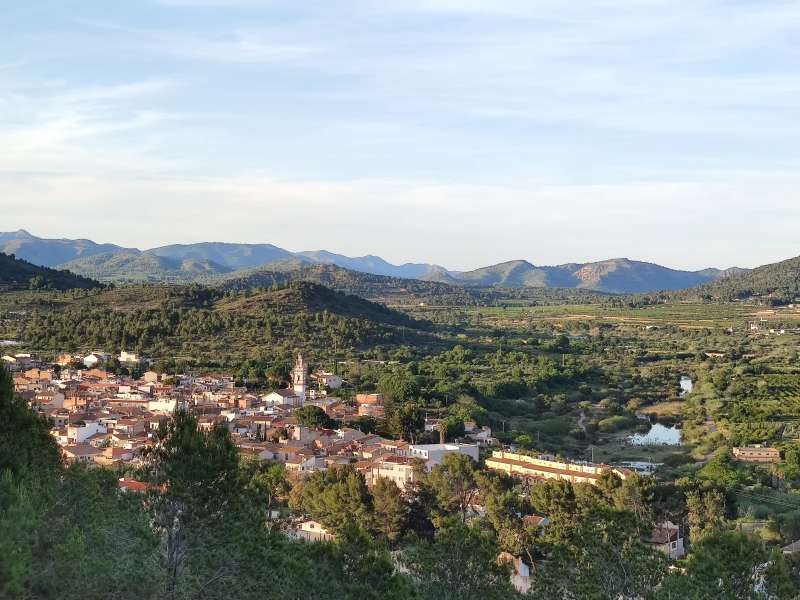 Vista de Estivella.