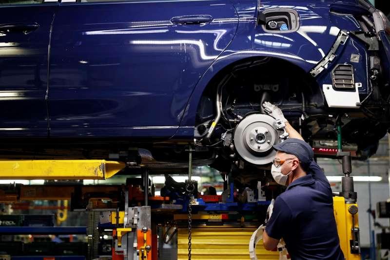 Imagen de archivo de la factoría Ford de Almussafes.
