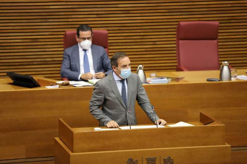Portavoz de Hacienda y Economía de Ciudadanos (Cs) en Les Corts valencianas, Tony Woodward.