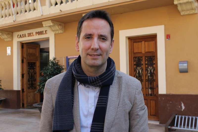 Sergi Ruiz, alcalde de Foios, en una imatge d?arxiu. EPDA
