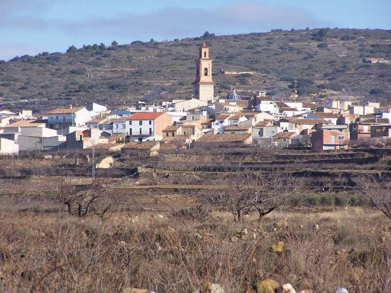 Pueblo de Alcublas. EPDA.