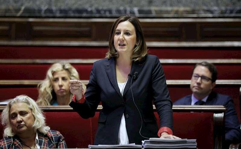 La Portavoz del grupo municipal del PPCV en el Ayuntamiento de València, Maria José Catalá. EFE