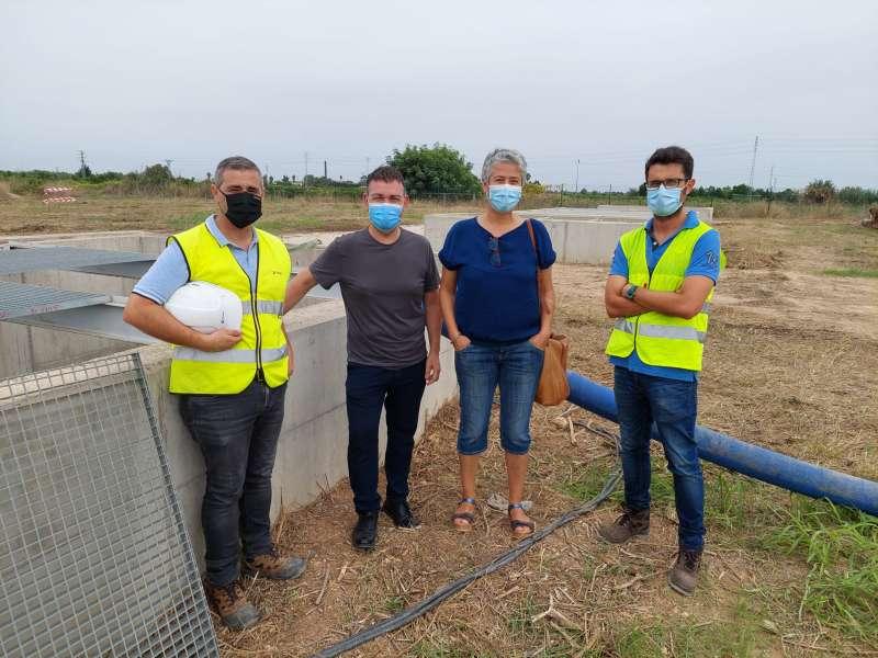 Catarroja rep una important millora de la infraestructura hidràulica de sanejament.