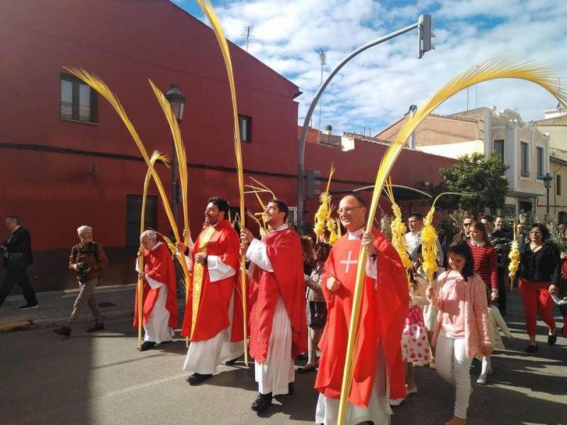 Celebración Domingo de Ramos. EPDA