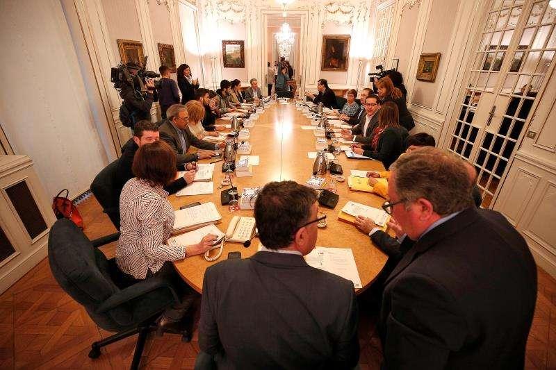 Reunión de la junta de portavoces de Les Corts Valencianes. EFE/Archivo