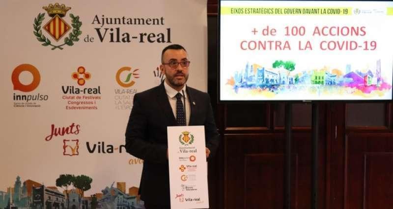 Benlloch, alcalde de Vila-real / EPDA