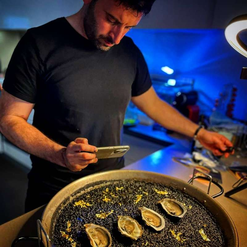 El Chef Valenciano Rubén Fenollar. EPDA