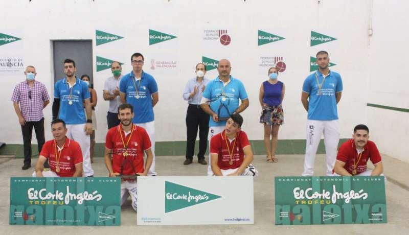 Club de Faura nuevo rey del Trofeo El Corte Inglés de galotxa./ EPDA