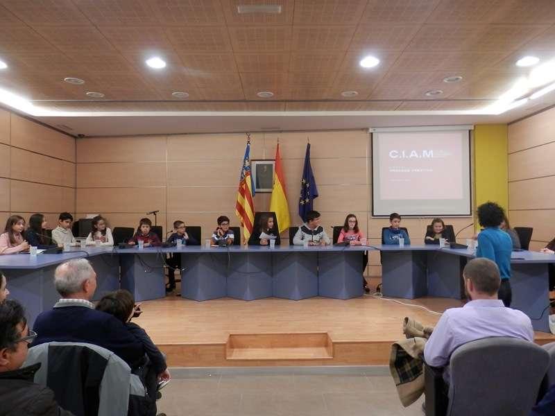 Reunió del Consell en l?Ajuntament de La Pobla. / EPDA