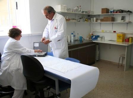 Unidad Funcional de Alergología de Elda. Foto EPDA