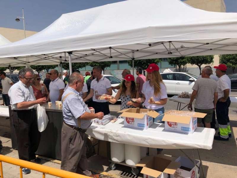 Imagen de archivo de las fiestas de Alboraya canceladas por el coronavirus. EPDA