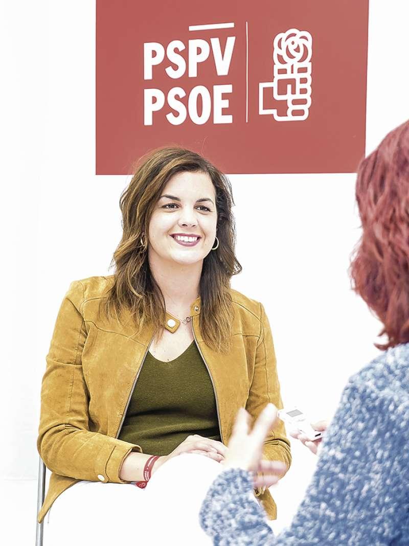 Sandra G�mez. FOTO F�LIX GIMENO
