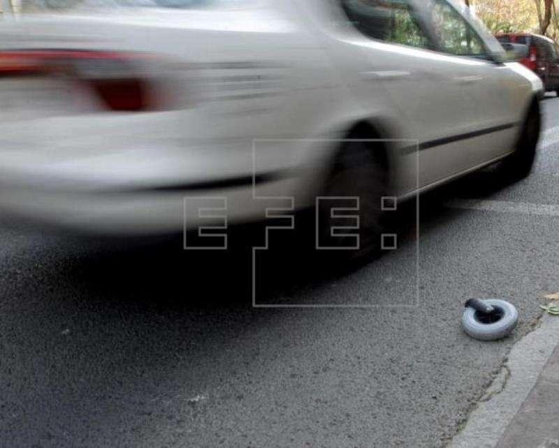 Imagen de un atropello en València. EFE/Archivo Menéame