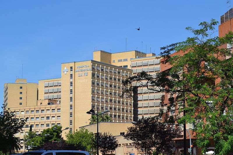 La antigua escuela de enfermería de La Fe, en el barrio del Campanar de València