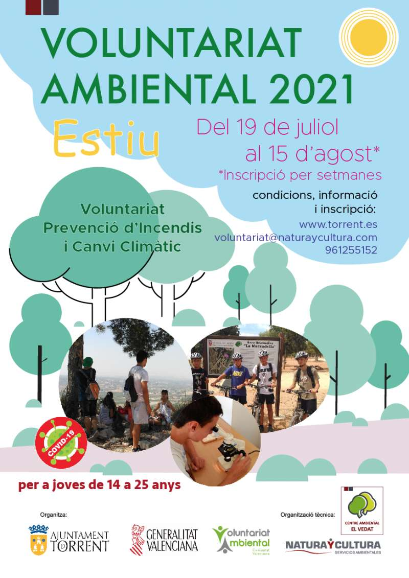 Voluntariat ambiental 2021. EPDA