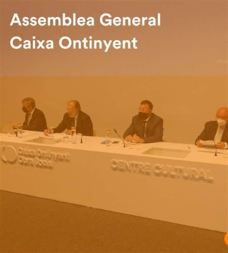 Imagen de la asamblea general.