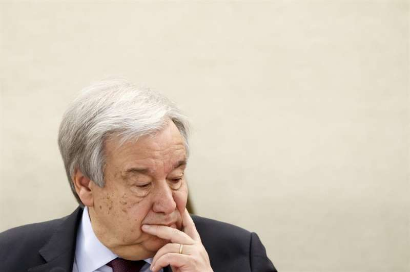 En la imagen, el secretario general de la ONU, António Guterres. EFE/Salvatore Di Nolfi/Archivo
