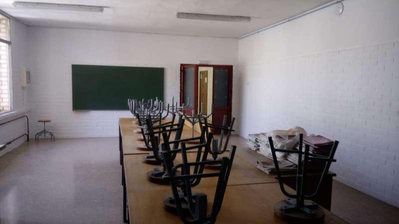 Un centro escolar en Alfafar. EPDA