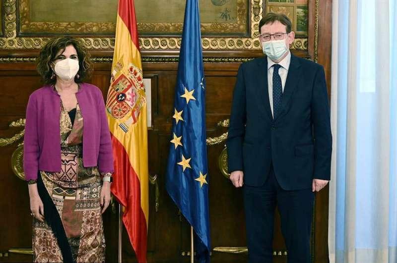 Puig se ha entrevistado hoy con la Ministra de Hacienda