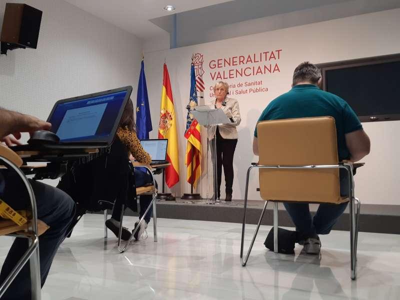 La consellera de Sanidad Universal y Salud Pública, Ana Barceló. EPDA